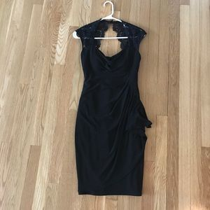 LBD. Cache with keyhole back.